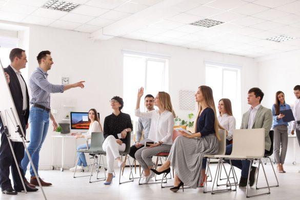Treinamento nas empresas
